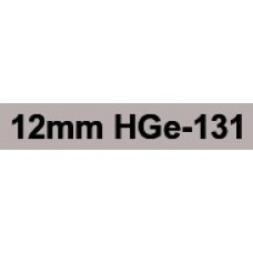 HGe-131 12mm Black on clear