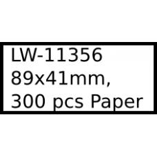 LW-11356 89mm x 41mm labels