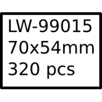 LW-99015 70mm x 54mm labels