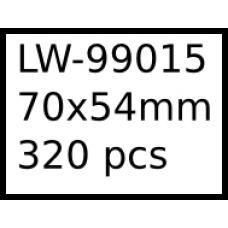 LW-99015 70mm x 54mm labels