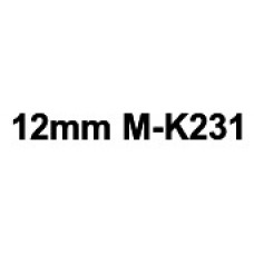 MK-231 12mm Black on white