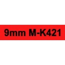 MK-421 9mm Black on red