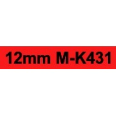 MK-431 12mm Black on red