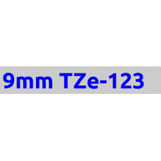TZe-123 9mm Blue on clear