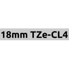 TZe-CL4 18mm cleaning tape