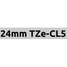 TZe-CL5 24mm cleaning tape