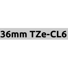 TZe-CL6 36mm cleaning tape