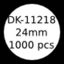 DK-11218 24mm round labels