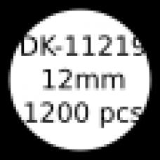 DK-11219 12mm round labels