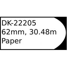 DK-22205 62mm continuous label
