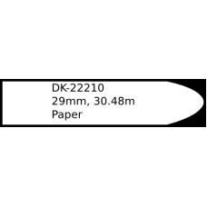 DK-22210 29mm continuous label