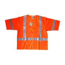 Hi Vis Orange Vest ANSI Class3 S/M